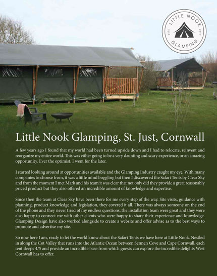 little nook glamping