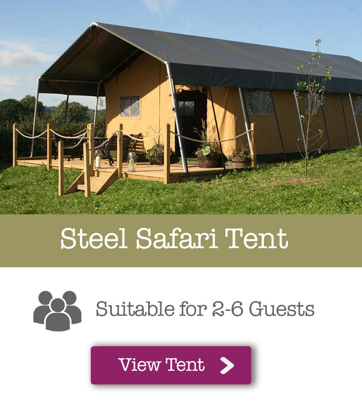Steel Safari Tent