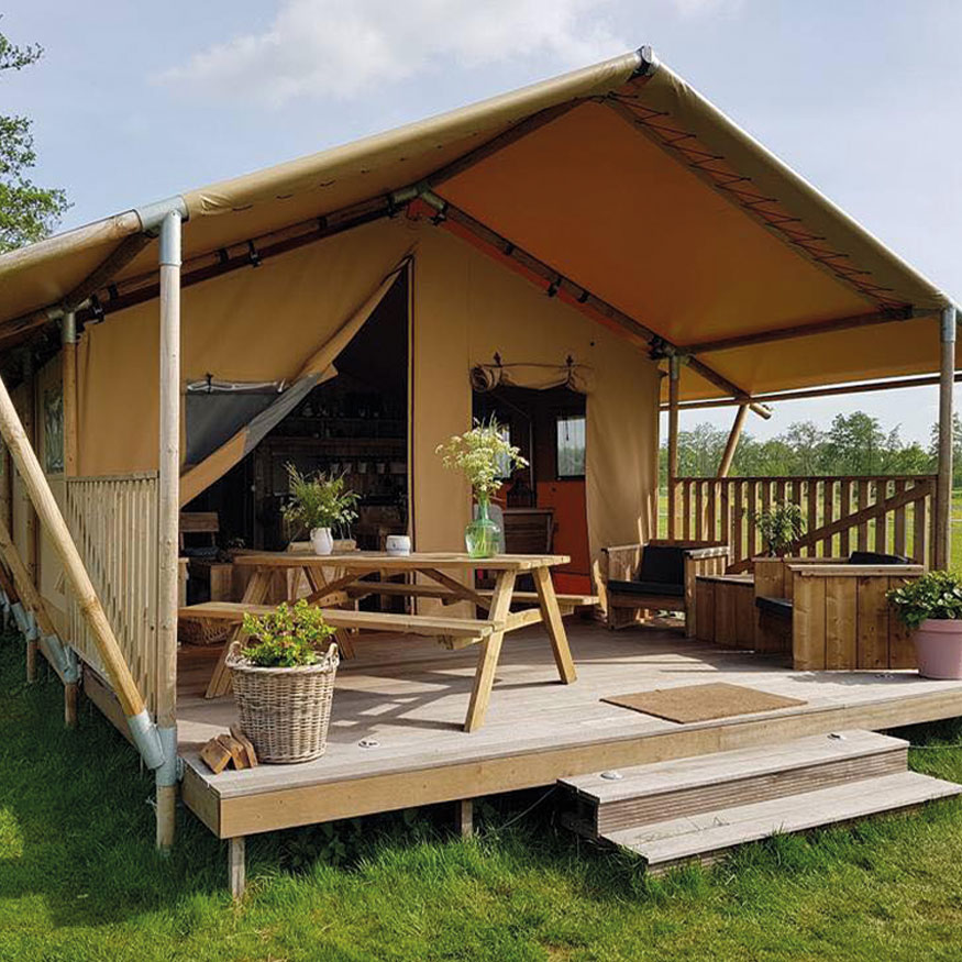 safari tent Bench