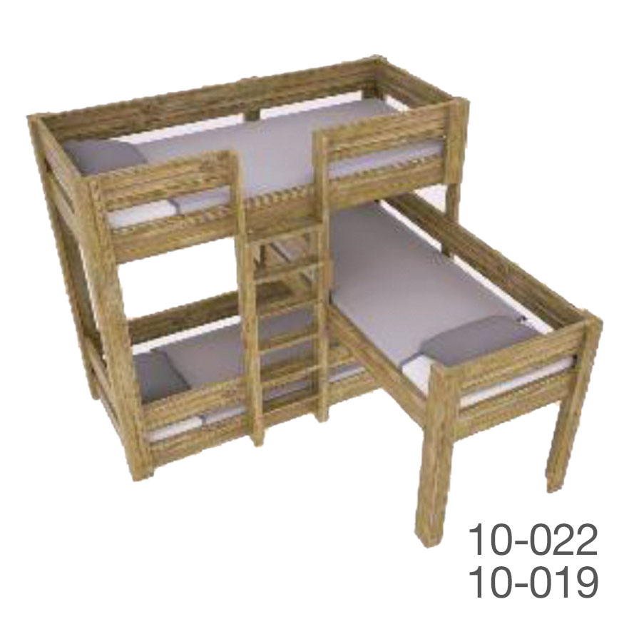 safari triple Bed