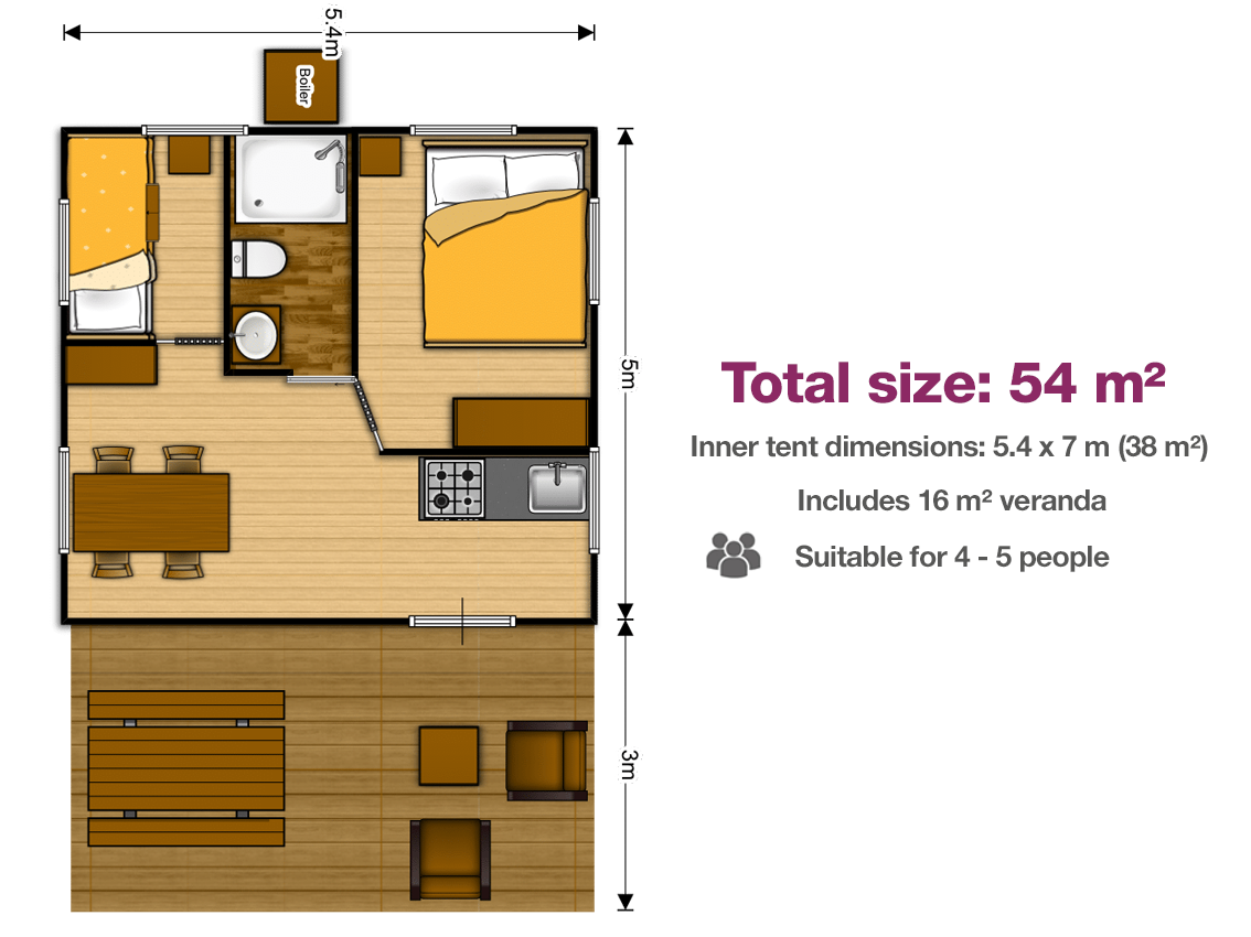 5.4x7 safari lodge floor plan