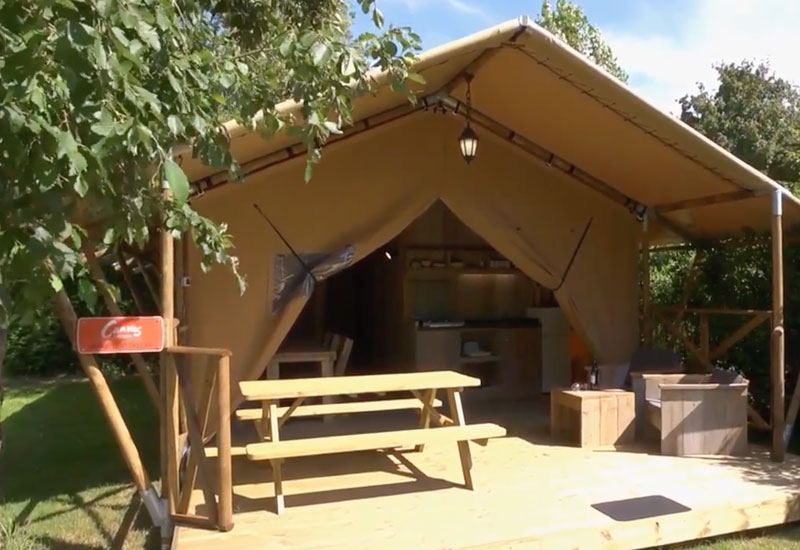 Plus Range Safari Tent video link