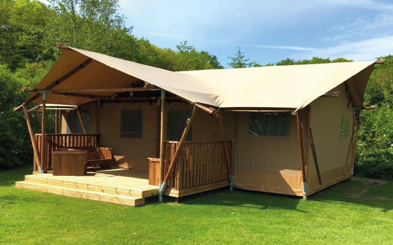 Club Lodge safari tent